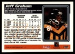 1995 Topps #136  Jeff Graham  Back Thumbnail