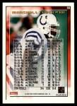 1995 Topps #10  Marshall Faulk  Back Thumbnail