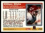 1995 Topps #298  William White  Back Thumbnail