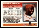 1995 Topps #276  Charles Wilson  Back Thumbnail