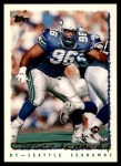 1995 Topps #208  Cortez Kennedy  Front Thumbnail
