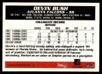 1995 Topps #236  Devin Bush  Back Thumbnail