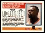 1995 Topps #293  Courtney Hawkins  Back Thumbnail