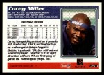 1995 Topps #258  Corey Miller  Back Thumbnail