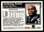 1995 Topps #277  Anthony Smith  Back Thumbnail
