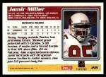 1995 Topps #281  Jamir Miller  Back Thumbnail