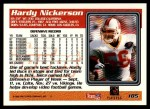 1995 Topps #185  Hardy Nickerson  Back Thumbnail