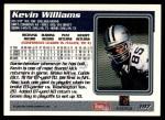1995 Topps #197  Kevin Williams  Back Thumbnail