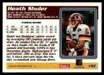 1995 Topps #192  Heath Shuler  Back Thumbnail