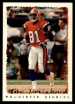 1995 Topps #292  Mike Pritchard  Front Thumbnail