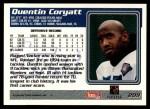 1995 Topps #209  Quentin Coryatt  Back Thumbnail