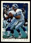 1995 Topps #275  Scott Mitchell  Front Thumbnail