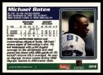 1995 Topps #324  Michael Bates  Back Thumbnail