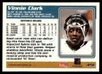 1995 Topps #456  Vinnie Clark  Back Thumbnail