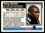 1995 Topps #447   -  Tony Smith Record Breaker Back Thumbnail