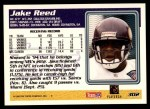 1995 Topps #302  Jake Reed  Back Thumbnail