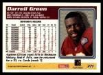 1995 Topps #371  Darrell Green  Back Thumbnail