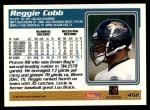 1995 Topps #452  Reggie Cobb  Back Thumbnail