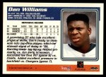 1995 Topps #366  Dan Williams  Back Thumbnail