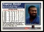 1995 Topps #338  Eugene Daniel  Back Thumbnail
