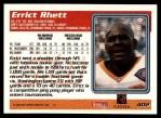 1995 Topps #402  Errict Rhett  Back Thumbnail