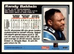 1995 Topps #441  Randy Baldwin  Back Thumbnail