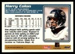 1995 Topps #462  Harry Colon  Back Thumbnail