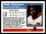 1995 Topps #406  Eddie Robinson  Back Thumbnail