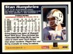 1995 Topps #308  Stan Humphries  Back Thumbnail