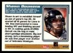 1995 Topps #458  Shawn Bouwens  Back Thumbnail