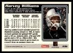 1995 Topps #336  Harvey Williams  Back Thumbnail