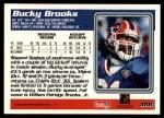 1995 Topps #388  Bucky Brooks  Back Thumbnail