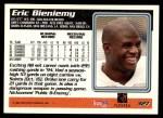 1995 Topps #327  Eric Bieniemy  Back Thumbnail