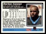 1995 Topps #440  Darion Conner  Back Thumbnail