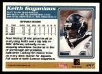 1995 Topps #457  Keith Goganious  Back Thumbnail