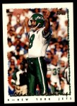 1995 Topps #416  Nick Lowery  Front Thumbnail