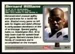 1995 Topps #323  Bernard Williams  Back Thumbnail
