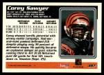 1995 Topps #387  Corey Sawyer  Back Thumbnail