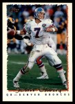 1995 Topps #400  John Elway  Front Thumbnail