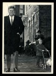 1964 Topps JFK #3   Sen. Kennedy With Daughter Caroline Front Thumbnail