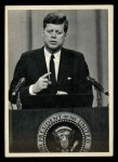 1964 Topps JFK #37   Talking To Reporters Front Thumbnail