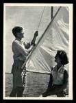 1964 Topps JFK #59   Sen. & Jackie Sailing At Hyannis Port Front Thumbnail