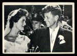 1964 Topps JFK #73   Sen. & Jackie After Marriage Front Thumbnail