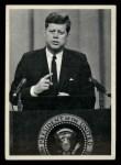 1964 Topps JFK #37   Talking To Reporters Front Thumbnail