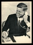 1964 Topps JFK #76   JFK On The Phone Front Thumbnail