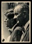 1964 Topps JFK #1   JFK Meets Lyndon Johnson Front Thumbnail