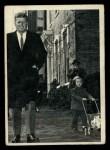 1964 Topps JFK #3   Sen. Kennedy With Daughter Caroline Front Thumbnail