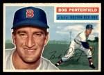 1956 Topps #248  Bob Porterfield  Front Thumbnail