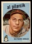 1959 Topps #7  Al Pilarcik  Front Thumbnail