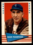 1961 Fleer #132  Roger Peckinpaugh  Front Thumbnail